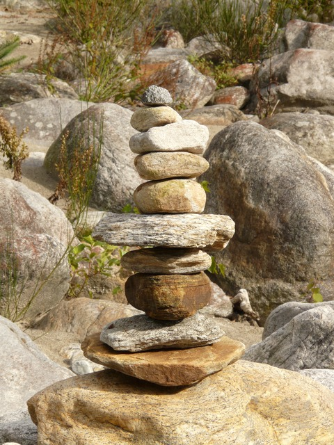 cairn, stone, rock, rocks, rook, castle, about, flat