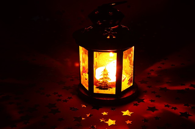 candle, christmas, decoration, flame, glowing