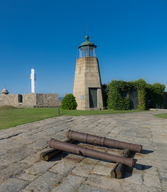 canon, fortress, lighthouse, castle