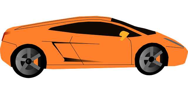 car, cartoon, orange, transportation, sports, cars