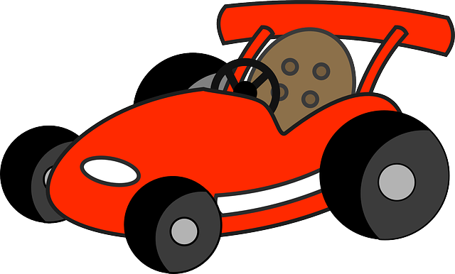car, driving, fun, kart, racing, go-cart, go-kart, red