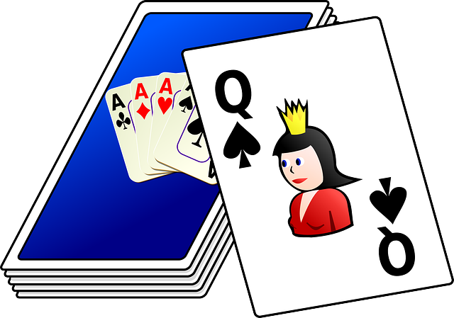 card, cartoon, games, cards, playing, deck, bridge