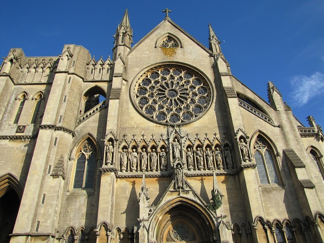 cathedral, church, building, architecture