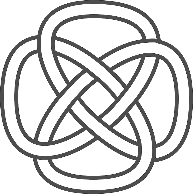 celtic, knot, simple, patterns, knots, inspired