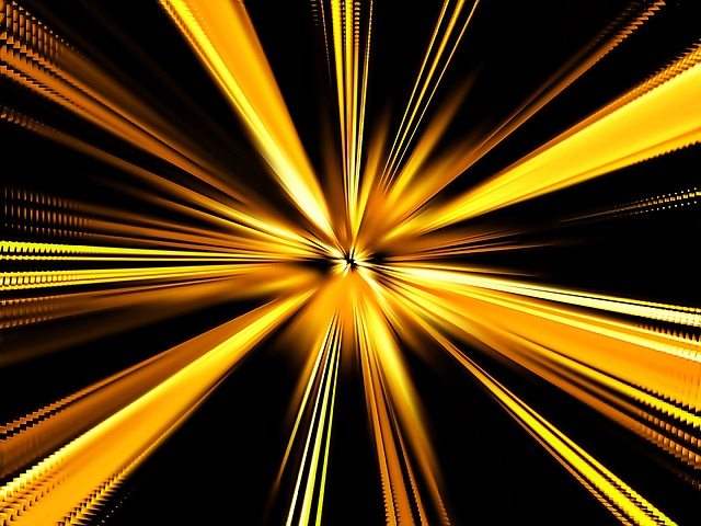 center, strokes, pattern, abstract, yellow, background