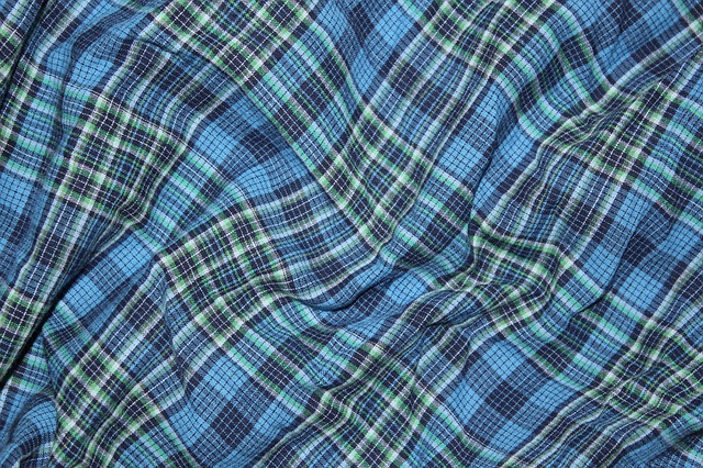checkered background, blue, background, cloth, textile