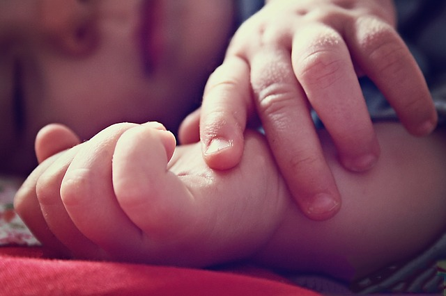 child, fingers, precious, hands, baby