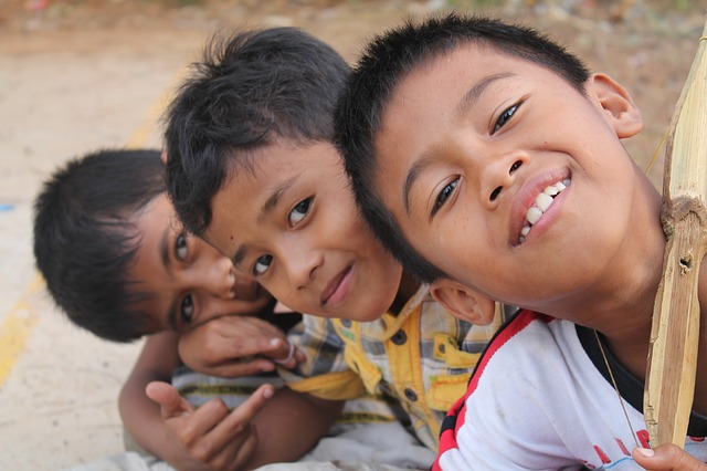 children, smile, happy, kids, emotions, young, indian