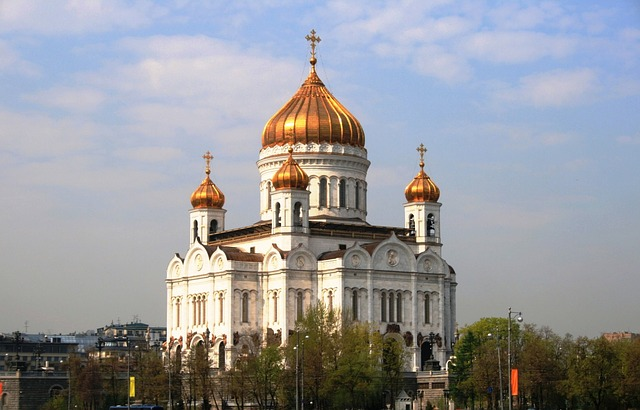 church, building, religion, russian orthodox