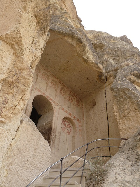 church, chapel, göreme, open air museum, tourist centre