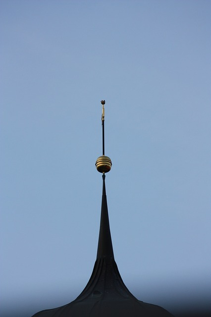 church, great, steeple