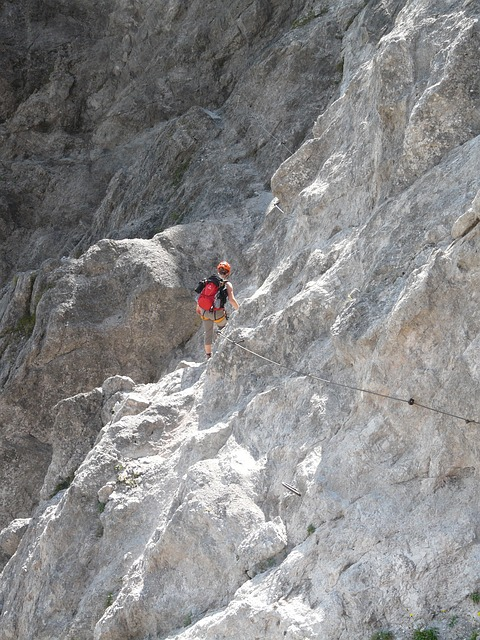 climbing, mountains, stone, rock, exposed, steep