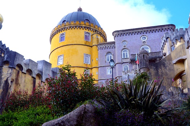 closed, building, architecture, palace, sintra