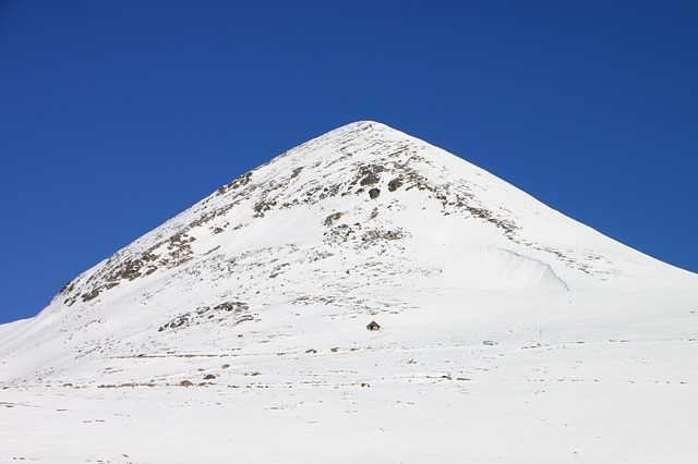 cold, mountains, papusa, peak, retezat, snow, top