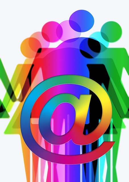 community, twitter, social, colorful, group, facebook