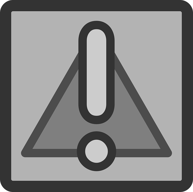 computer, flat, file, warning, theme, important