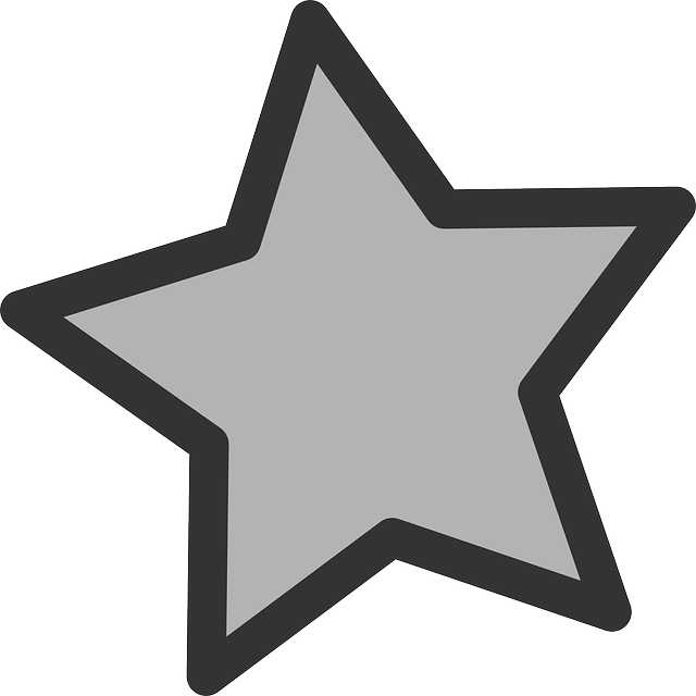 computer, flat, icon, star, theme, favourites, favorite