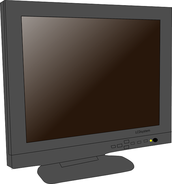 computer, monitor, lcd, flat, panel, display, plasma