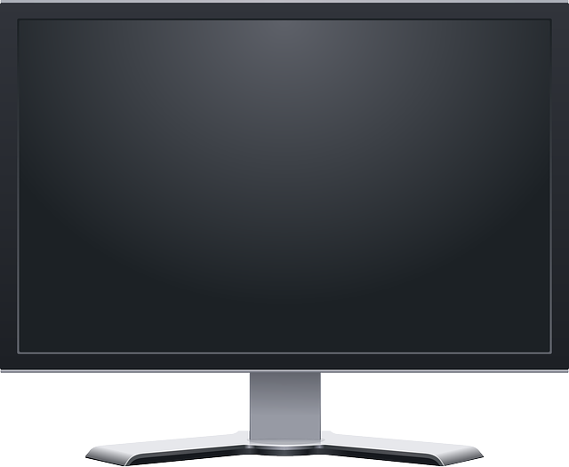 computer, monitor, lcd, screen, flat, icon, plasma