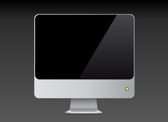 computer, monitor, lcd, screen, flat, panel, hardware