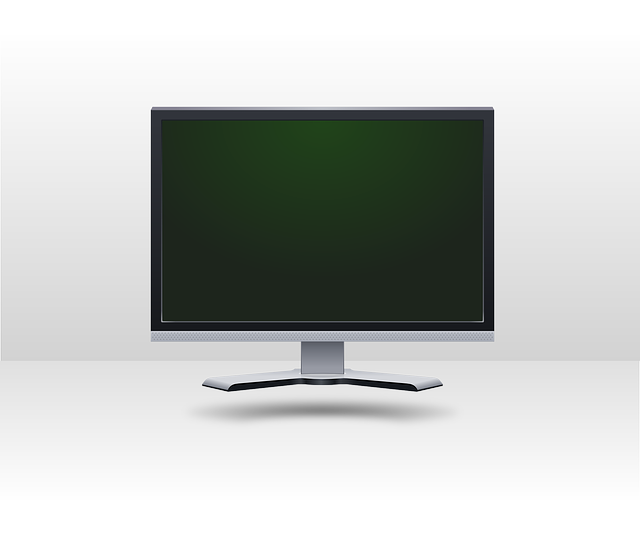 computer, monitor, lcd, screen, flat, panel