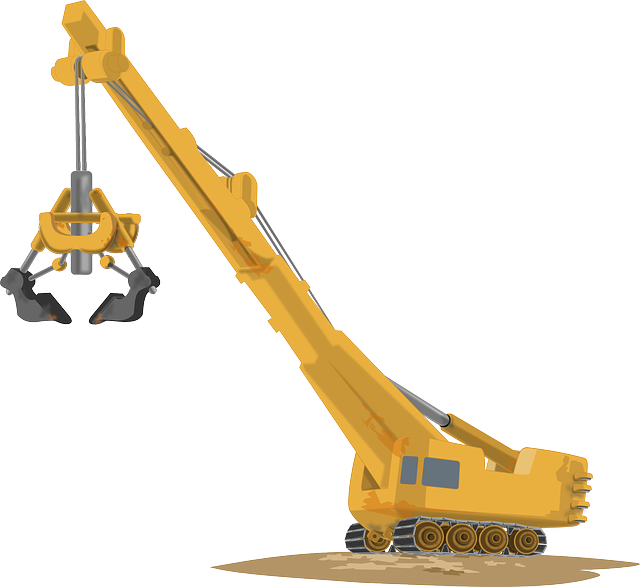 crane, machine, heavy equipment, construction site