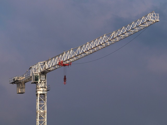 crane, tower, amsterdam, sky, clouds, equipment