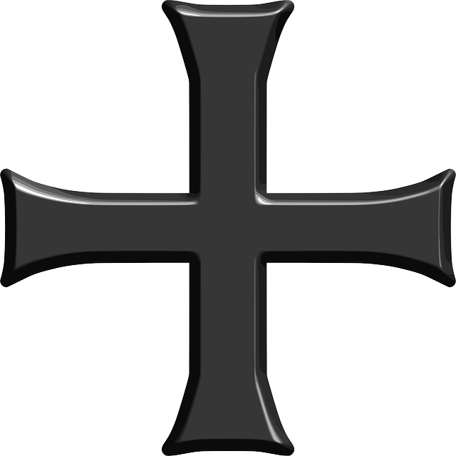 crusade, cross, crusader, heraldry, religion, symmetric
