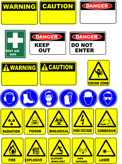 danger, signs, safety, symbols