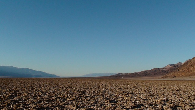 death valley, salt lake, nevada, scenery