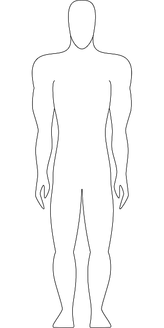 diagram, outline, drawing, people, man, silhouette