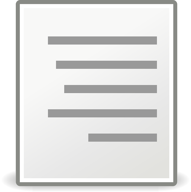 document, align right, right direction, paper, icon
