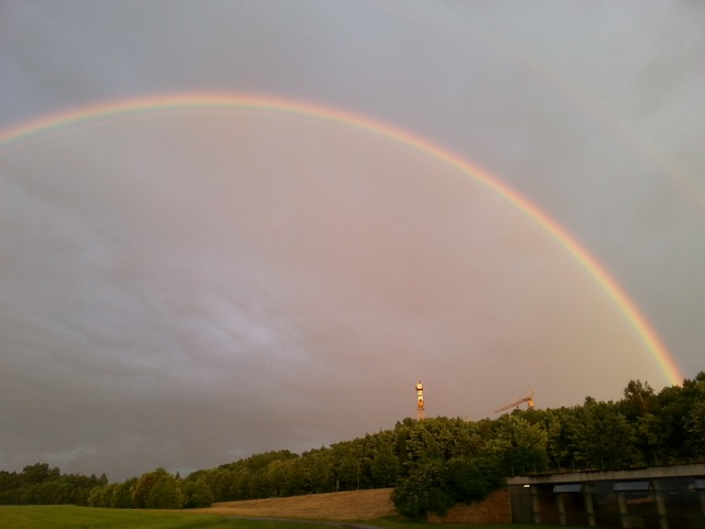 double rainbow, rainbow, natuschauspiel