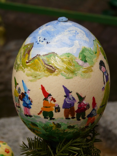 easter egg, easter, paint, easter egg painting