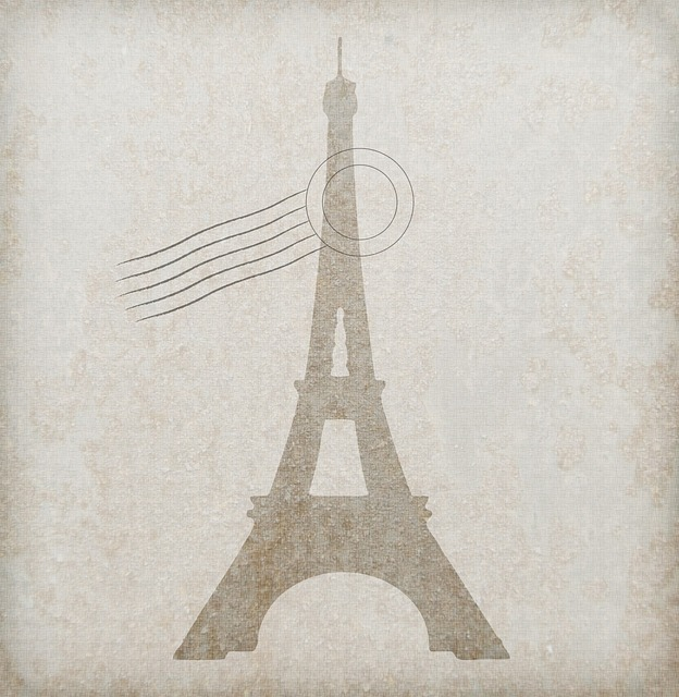 eiffel tower, line, paper, texture, background, old