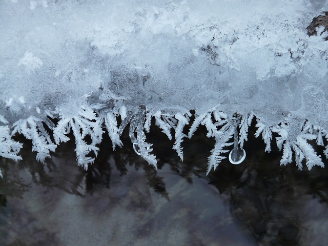 eiskristalle, ice, crystals, iced, frozen, winter, cold