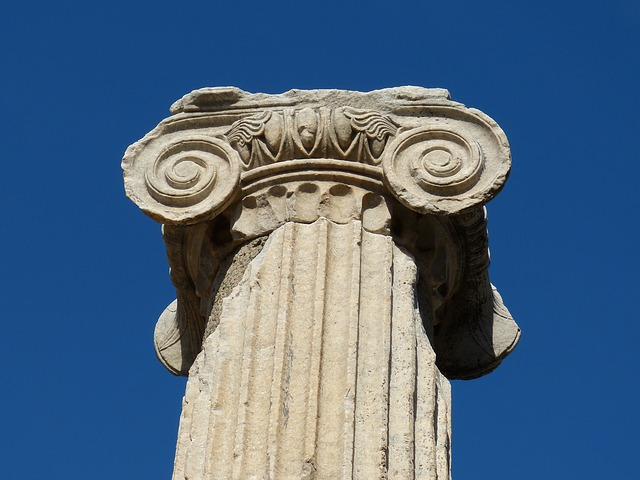 ephesus, antique, antiquity, pillar, temple, ruin