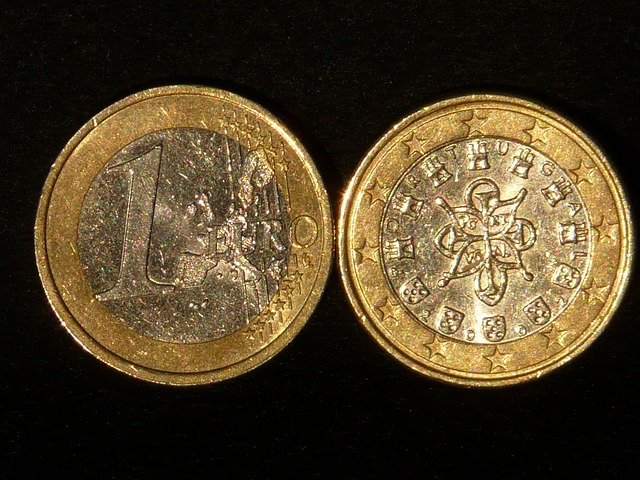 euro, coins, money, sparkle, specie, metal, valuable