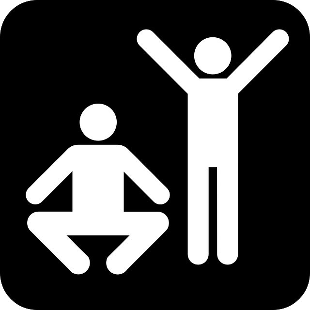 exercises, fitness, stretching, sports, black, sign