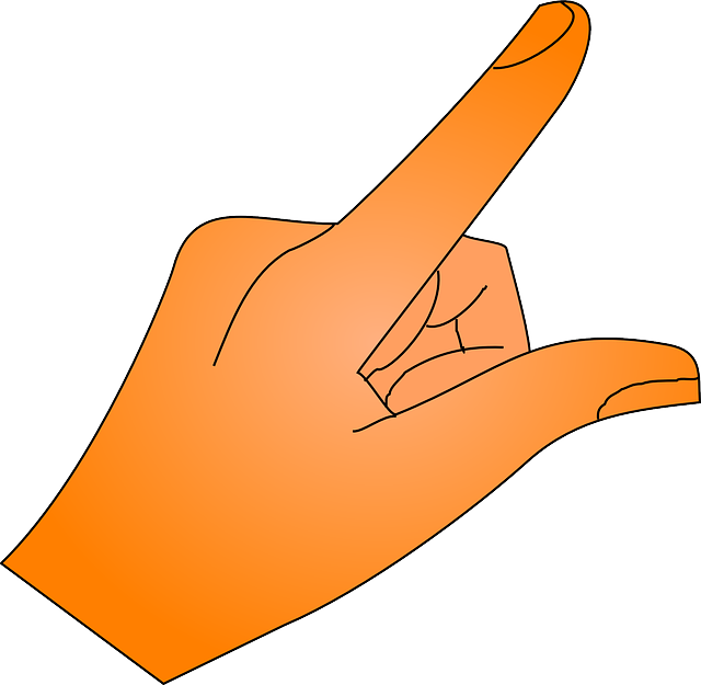 finger, hand, show, thumb, pointing, index finger