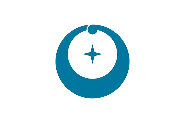 flag, circle, plus, crescent, asia, japan, asian