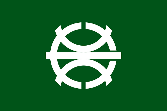 flag, sign, green, symbol, white, asia, japan