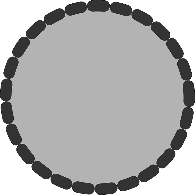 flat, circle, theme, action, dotted, icon, dot