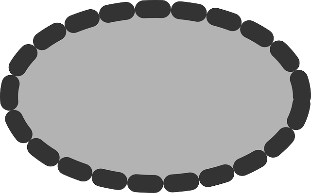 flat, grey, ellipse, oval, dotted, icon, dot