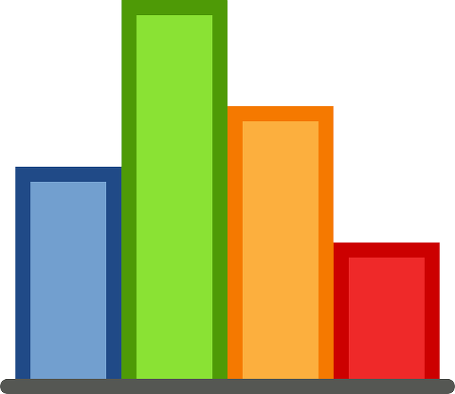 flat, icon, bar, graphics, statistics, chart, graph