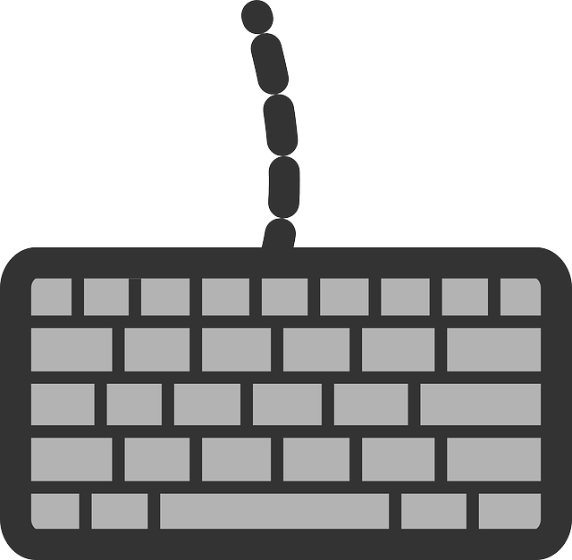 flat, keyboard, theme, typing, icon, types