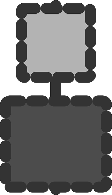 flat, vertical, align, center, objects, icon