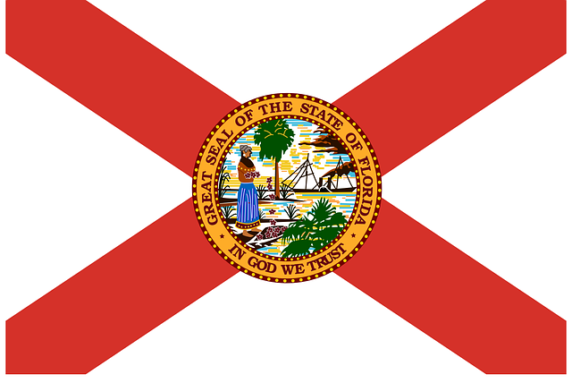 florida, flag, state, usa