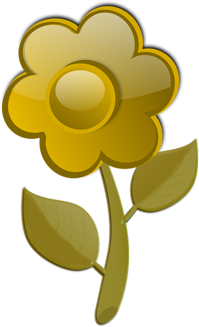 flower, bloom, blossom, glossy, yellow
