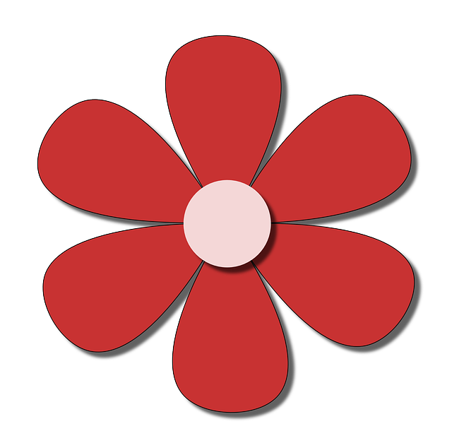 flower, red, spring, summer, paper